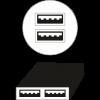 4-USB Charging Ports