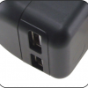 Output with 2 USB ports
