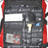Quick access pocket on front